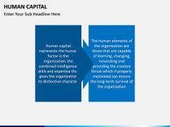 Human Capital PPT slide 2