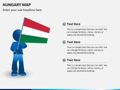 Hungary map PPT slide 18