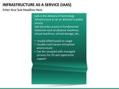 Infrastructure as a service PPT slide 26