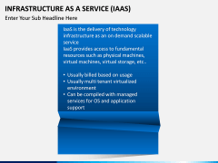 Infrastructure as a service PPT slide 4
