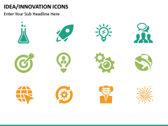 Idea Innovation Icons PPT slide 6