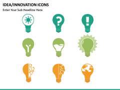 Idea Innovation Icons PPT slide 7