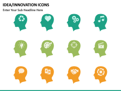 Idea Innovation Icons PPT slide 10