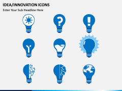 Idea Innovation Icons PPT slide 2