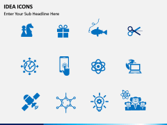 Idea Innovation Icons PPT slide 4