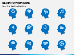 Idea Innovation Icons PPT slide 5