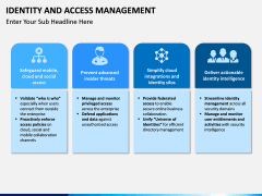 Identity and Access Management PPT slide 5