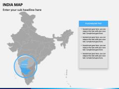 India Map PPT slide 10