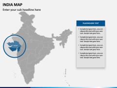 India Map PPT slide 11