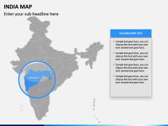 India Map PPT slide 12