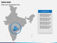 India Map PPT slide 13