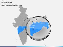 India Map PPT slide 15