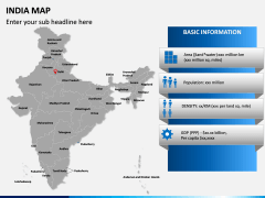India Map PPT slide 18