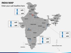 India Map PPT slide 19