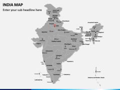 India Map PPT slide 2