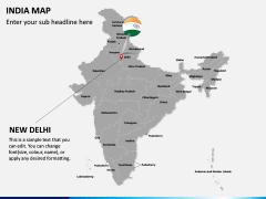 India Map PPT slide 20