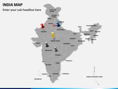 India Map PPT slide 3