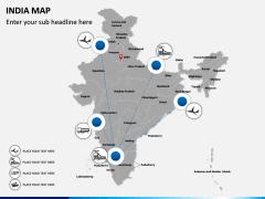 India Map PPT slide 7