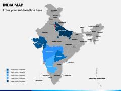 India Map PPT slide 8