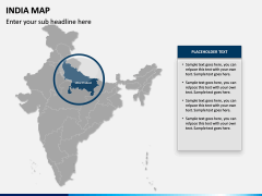 India Map PPT slide 9