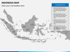 Indonesia map PPT slide 10