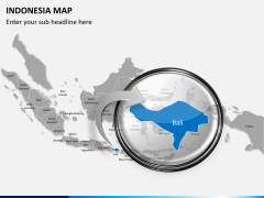 Indonesia map PPT slide 11