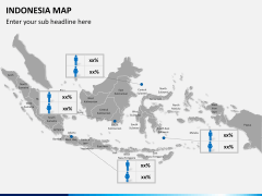 Indonesia map PPT slide 15