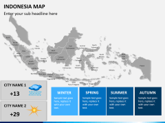 Indonesia map PPT slide 18
