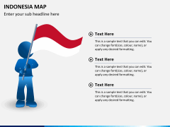 Indonesia map PPT slide 20