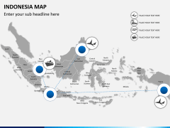Indonesia map PPT slide 4