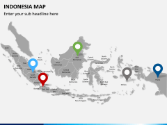 Indonesia map PPT slide 5