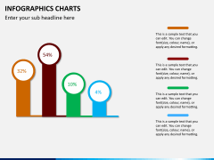 Infographic charts PPT slide 10