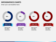Infographic charts PPT slide 11