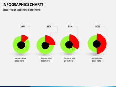 Infographic charts PPT slide 12