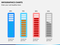 Infographic charts PPT slide 15