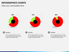Infographic charts PPT slide 17