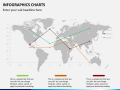 Infographic charts PPT slide 26
