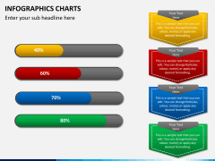 Infographic charts PPT slide 3