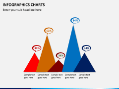 Infographic charts PPT slide 4