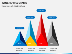 Infographic charts PPT slide 5