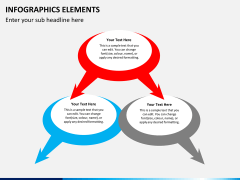 Infographic elements PPT slide 11