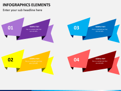Infographic elements PPT slide 13