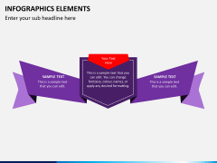 Infographic elements PPT slide 17