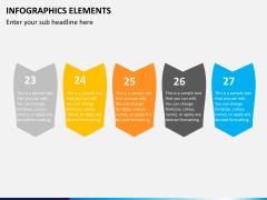Infographic elements PPT slide 2