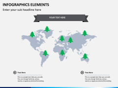 Infographic elements PPT slide 23