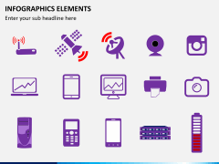 Infographic elements PPT slide 39