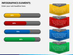 Infographic elements PPT slide 45