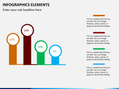 Infographic elements PPT slide 46