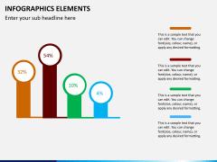 Infographic elements PPT slide 46