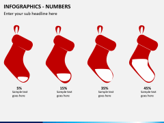 Infographic numbers PPT slide 11